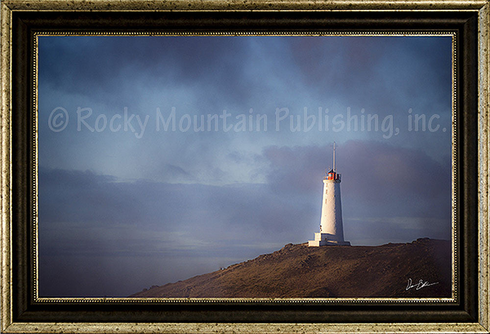Light the Way Framed Giclee Canvas by Dan Ballard