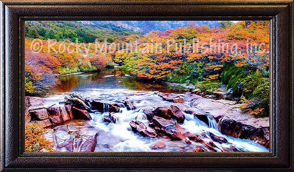 Lost In Fall Framed Giclee Canvas By Dan Ballard Gallery4collectors Com