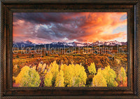 Serentiy Framed Giclee Canvas by Dan Ballard