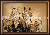 The A Team Framed Giclee Canvas by Dan Ballard