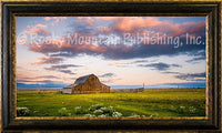 The Home Place Framed Giclee Canvas by Dan Ballard