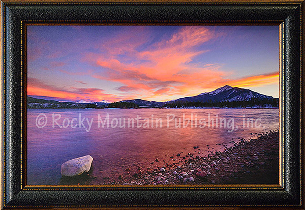 Tranquility Framed Giclee Canvas by Dan Ballard
