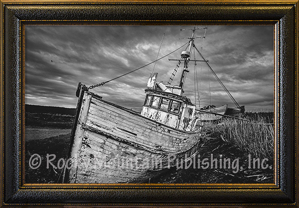 Veteran of the Sea Framed Giclee Canvas by Dan Ballard