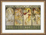 The Seasons by Alphonse Mucha