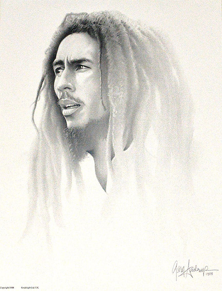 Bob Marley – Art Prints by Gary Saderup