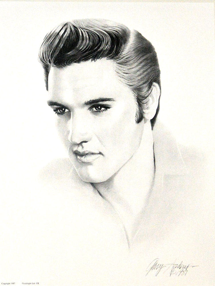 Elvis Presley – Art Prints by Gary Saderup