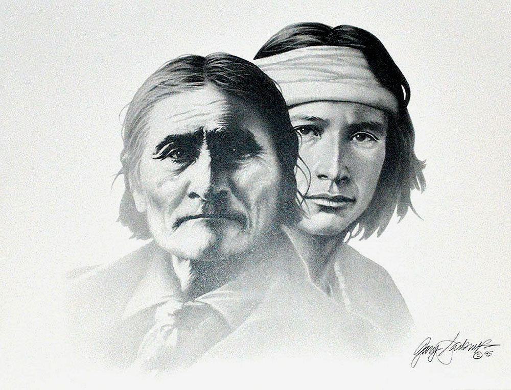 Geronimo – Art Prints by Gary Saderup