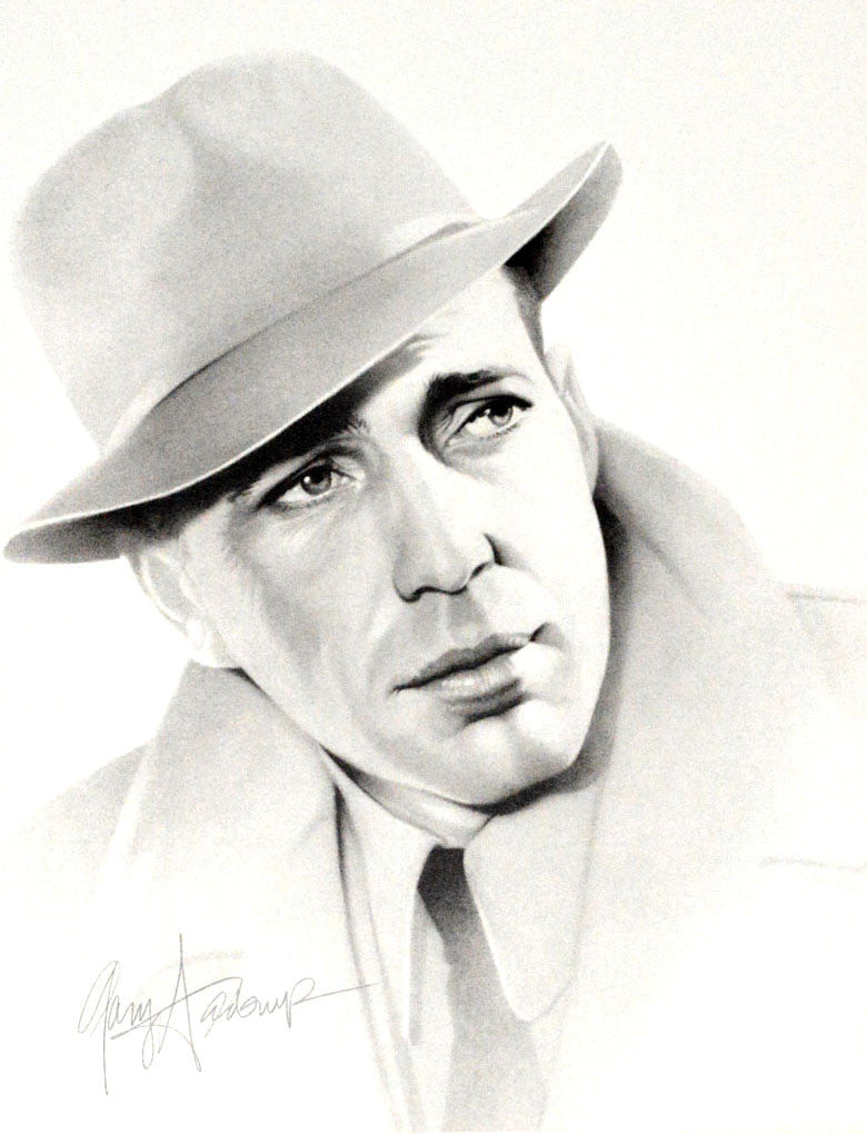 Humphrey Bogart – Art Prints by Gary Saderup