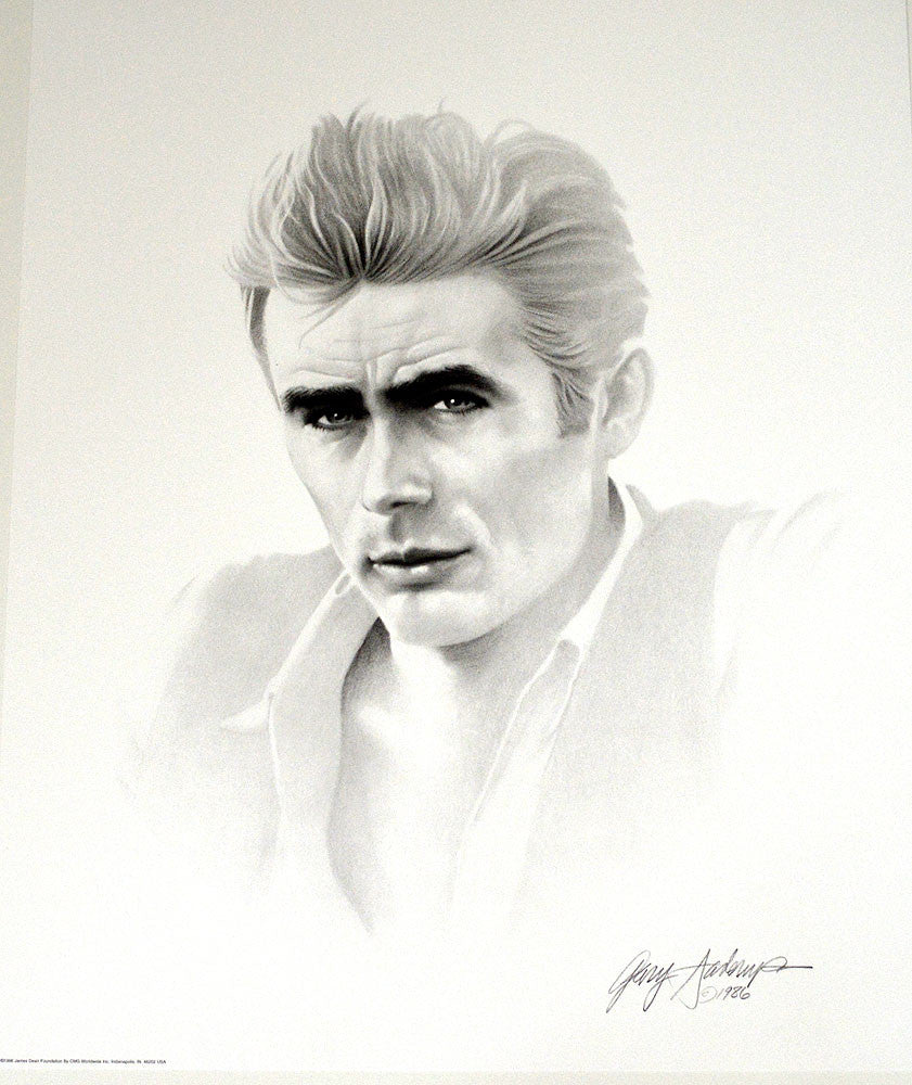 James Dean – Art Prints by Gary Saderup