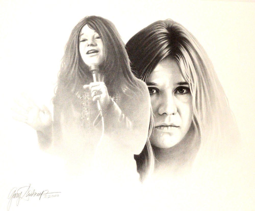 Janis Joplin – Art Prints by Gary Saderup