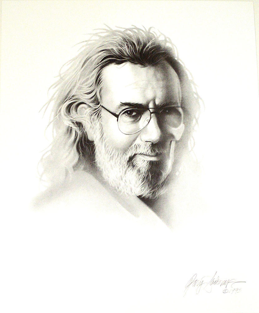 Jerry Garcia – Art Prints by Gary Saderup