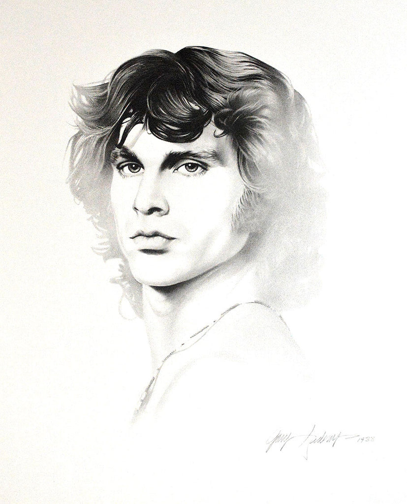 Jim Morrison – Art Prints by Gary Saderup
