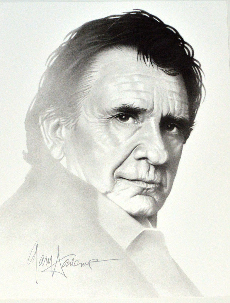 Johnny Cash – Art Prints by Gary Saderup