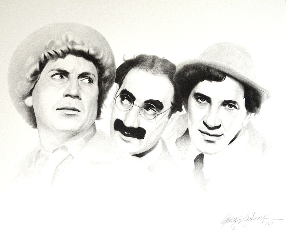 Marx Brothers – Art Prints by Gary Saderup