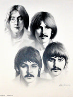 The Beatles – Art Prints by Gary Saderup