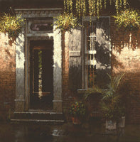 Rue Dauphine ~ New Orleans by George Hallmark