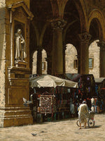 Mercato di Cuoio (The Leather Market) by George Hallmark