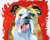 Georgia Bull Dog by George Jones