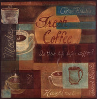 Fresh Coffee II Art Prints by Grace Pullen