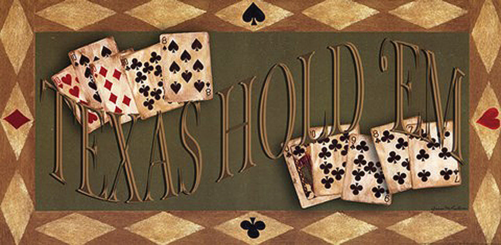 Texas Holdem Art Prints by Grace Pullen