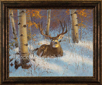 Aspen Sanctuary – Framed Giclee Canvas by Hayden Lambson