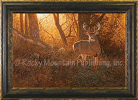 Evening Encounter – Framed Giclee Canvas by Hayden Lambson
