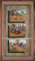 Hayden Lambson - Hayden Birds Triple Framed Prints