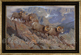 Home of the Pika – Framed Giclee Canvas by Hayden Lambson