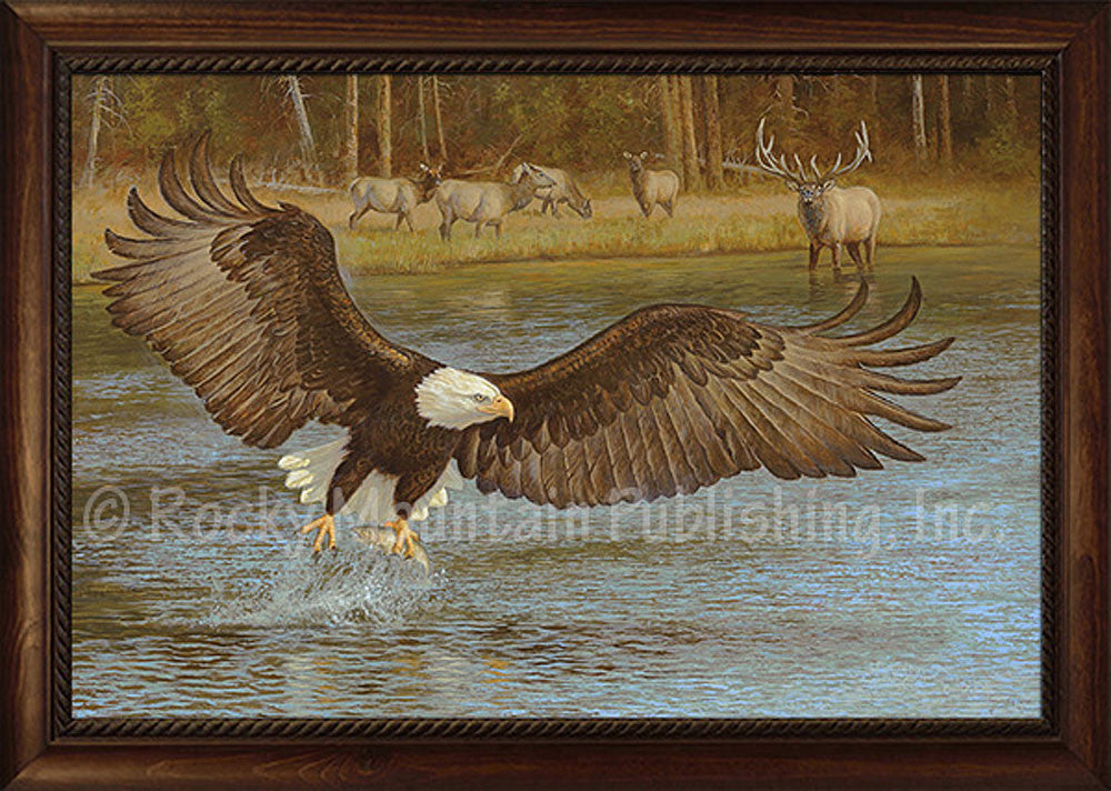 River Wild – Framed Giclee Canvas by Hayden Lambson
