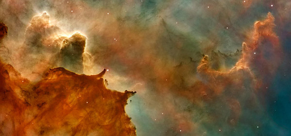 Carina Nebula Details Great Clouds by Hubble Telescope