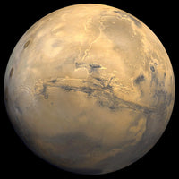 Mars by Hubble Telescope