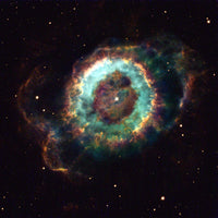 Old Star Gives Up the Ghost by Hubble Telescope
