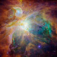 Spitzer Colorful Masterpiece by Hubble Telescope
