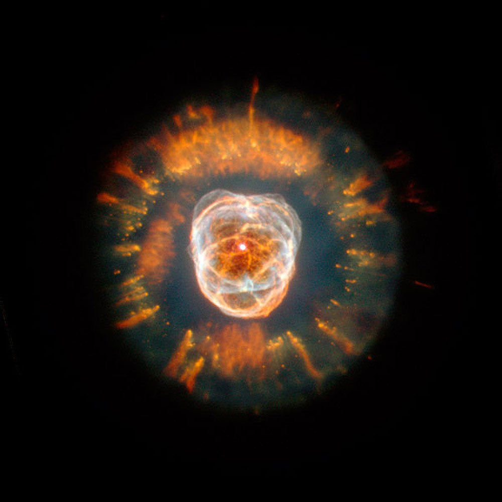 The Eskimo Nebula by Hubble Telescope