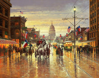 Jack Terry After the Centennial Parade Art Prints