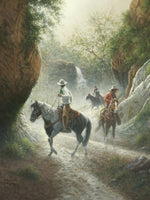Jack Terry Riders of Mystic Canyon art prints