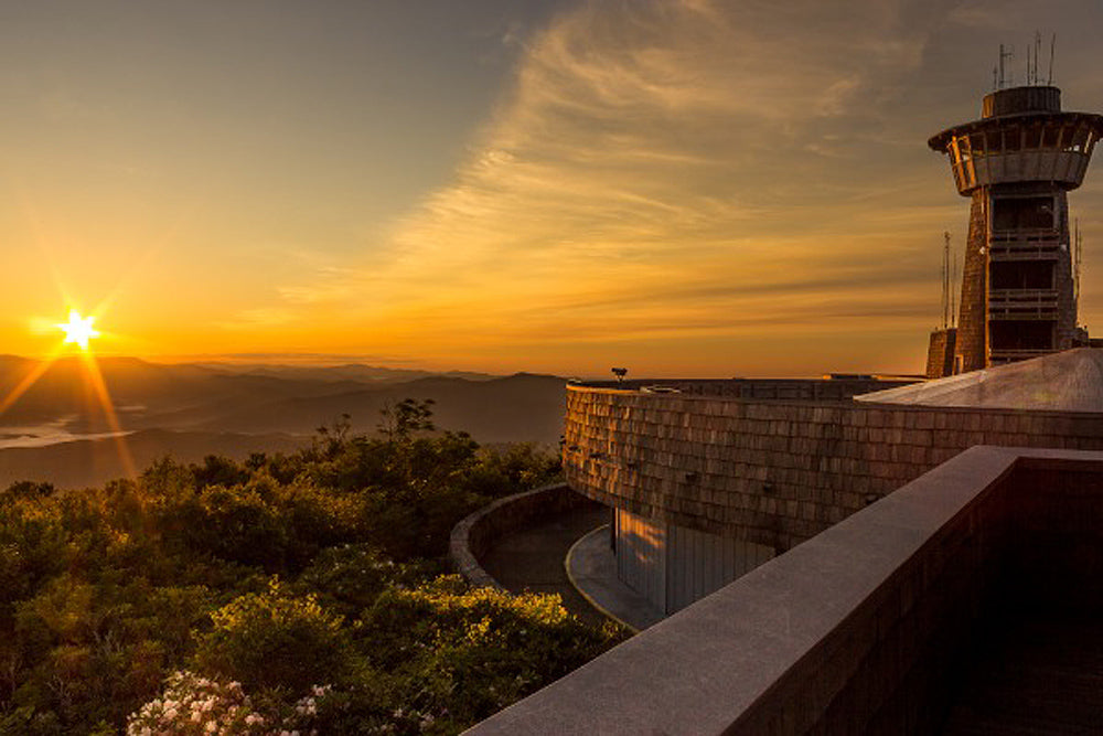 Atop Brasstown Bald Tower Art Prints by Jason Clemmons Artist