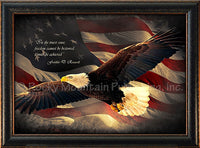 Wings of Freedom Art Framed artwork by Jeremy Ashcraft