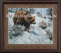 First Snow Framed Print by John Seerey-Lester