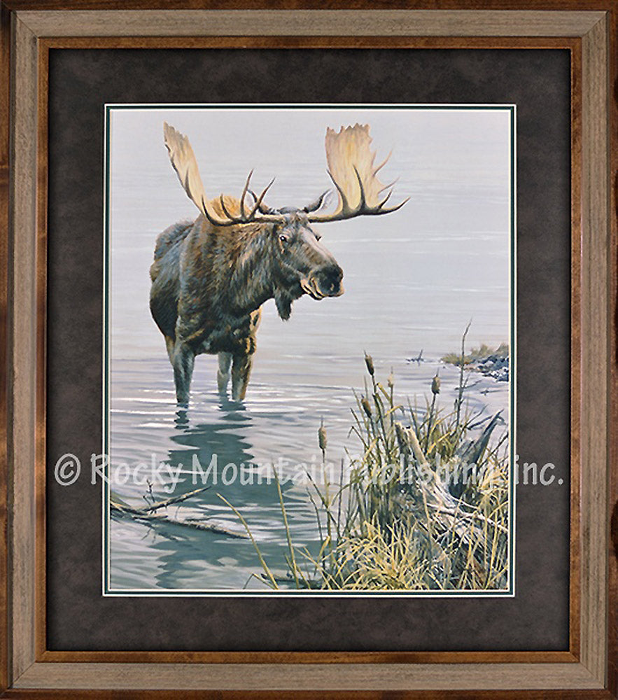 Silent Waters Custom Framed Art Prints by John Seerey-Lester