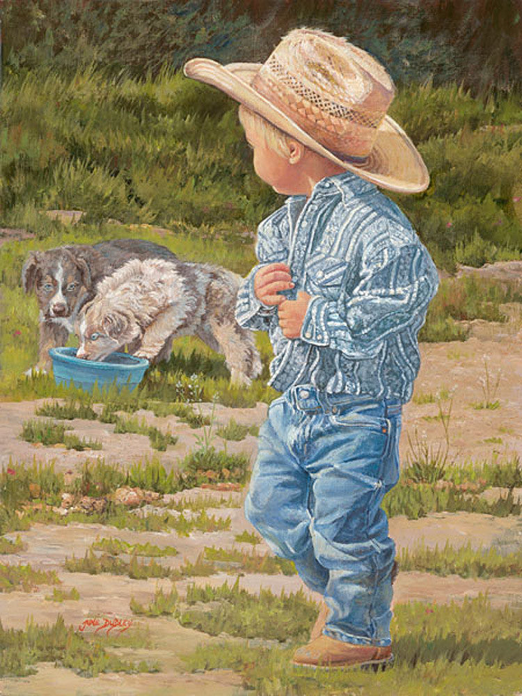 Little Boy Blue by June Dudley