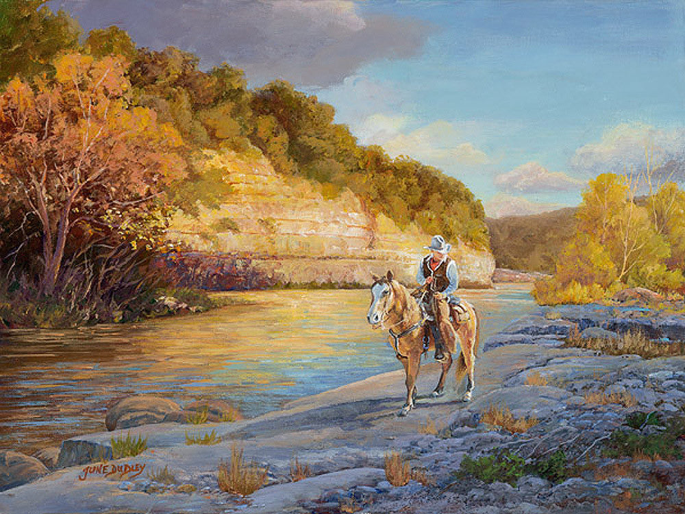 Where the Trail Begins by June Dudley