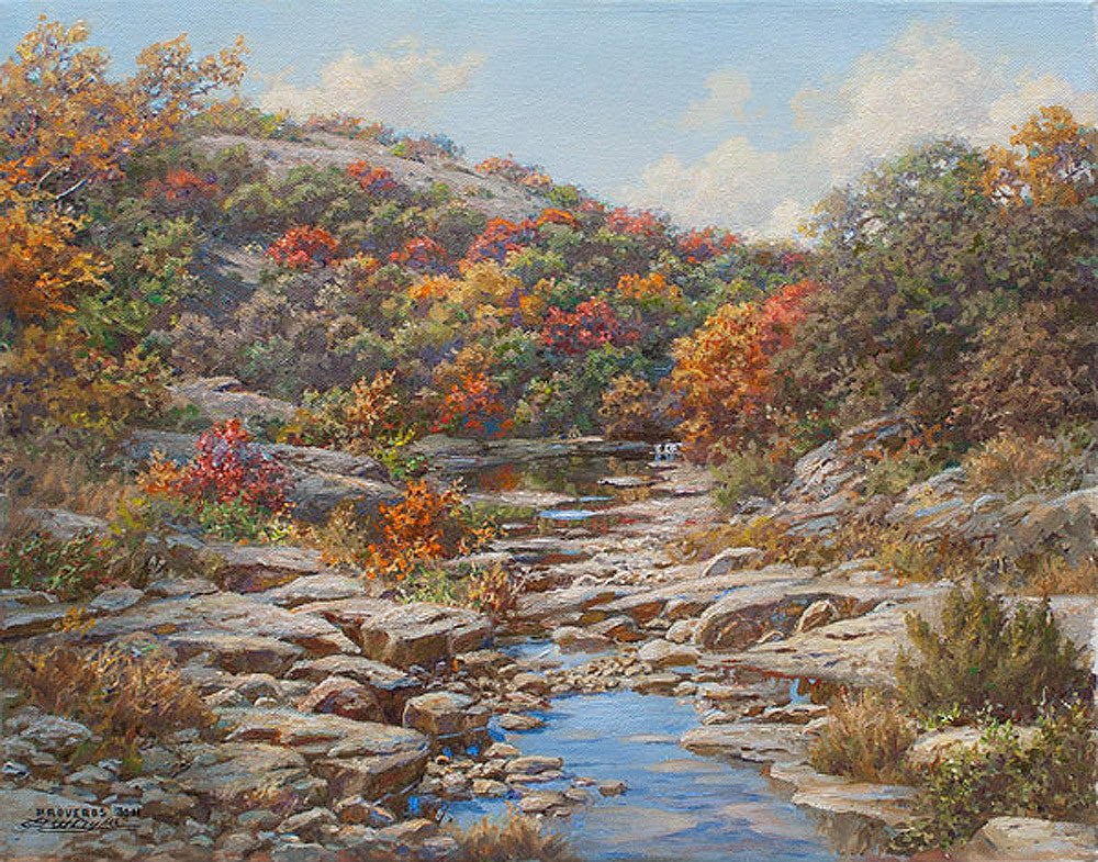 Autumn Creek by Larry Dyke