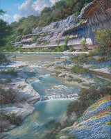 Bluebonnet Amphitheater by Larry Dyke