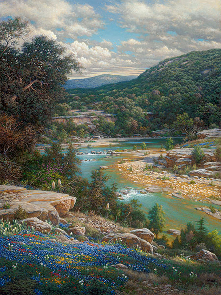 Cliffs of the Nueces by Larry Dyke