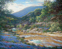 Morning at Willow Creek by Larry Dyke