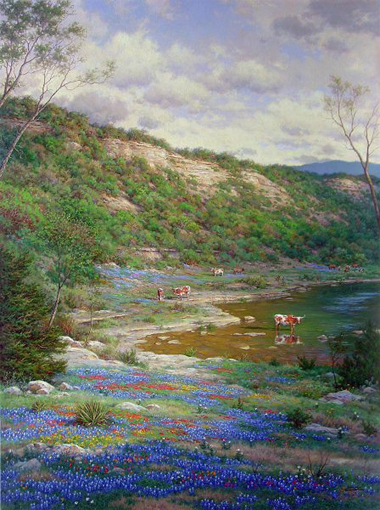 Texas Spring by Larry Dyke