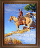 Loyal Partners Framed giclee canvas by Clark Kelley Price