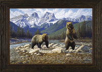 Dueces Wild – Framed Giclee Canvas by Manuel Mansanarez