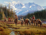 A Cautious Encounter Art Prints by Martin Grelle